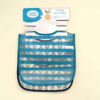 BNW 2pcs. Luvable Friends Waterproof Bibs