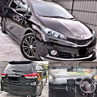 SAMBUNG BAYAR / CONTINUE LOAN  TOYOTA WISH NEW FACELIFT FULLSPEC 1.8 AUTO