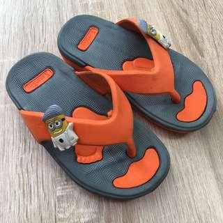 kids - minion sandals