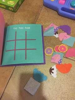 Felt busy book for toddler