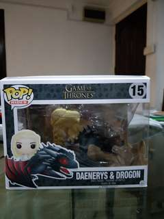 Funko Pop ride Daenerys & Drogon Game Of Thrones