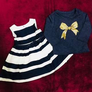 Set Dress + Shirt for newborn