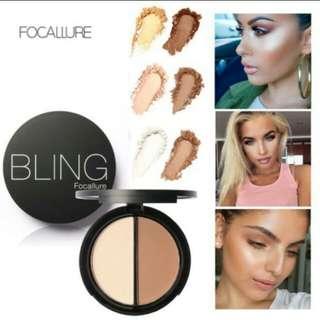Focallure bronze highlight & contour