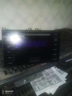 TOYOTA原廠國際牌汽車音響。藍牙 USB MP3