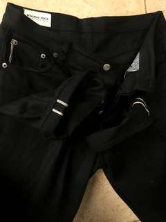 Wingman Denim Black x Black . 1 month used .nominus