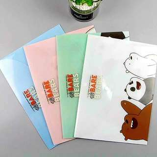 WE BARE BEARS ENVELOPE (Pre Order)