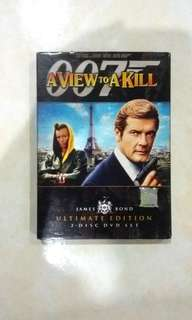 DVD James Bond 007 - A View To A Kill