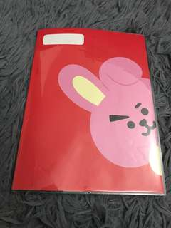 READYSTOCK BT21 SCHOOLING NOTE COOKY