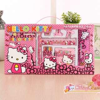 Hello kitty 10pcs stationery set