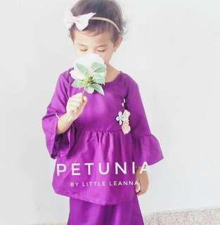 Baju Raya Cotton Ruffles