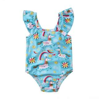 Unicorn 🦄 rainbow 🌈 swimsuits