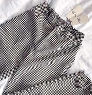 P&B chino pants black and white pull and bear