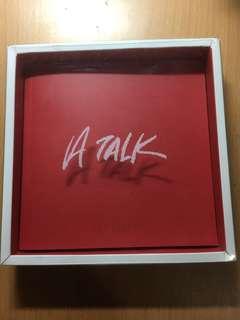 Hyuna A Talk CD+海報