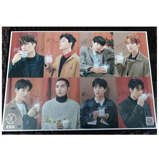 EXO Posters for sale. 20 pesos each and buy 6 for only 100.