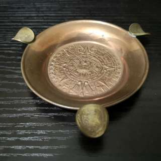 Copper ashtray