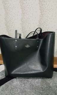Coach Reversible city tote bags