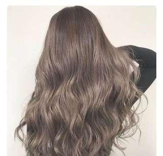 Kool Permanent Hair Dye (Light Ash Brown)
