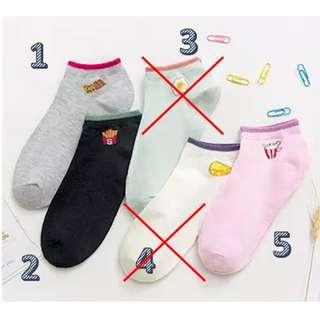 [Brand New] Cute Ankle Socks