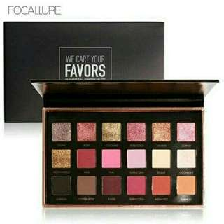 PO focallure eyeshadow 18 shades