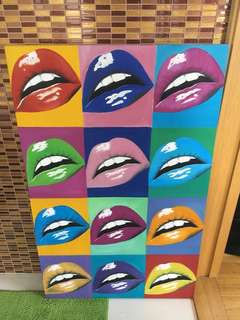 Warhol Style Painting