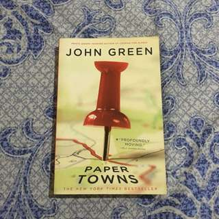 IMPORTED Novel Paper Towns by John Green