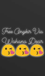 Free Delivery Via Wahana