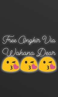 Free Delivery Via Wahana