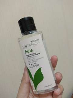 #mausupreme mineral botanica toner acne gel