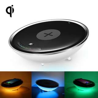 Wireless Charger Colourful Night Light