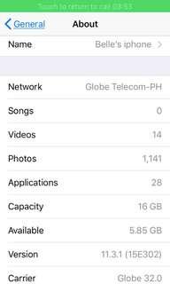 Iphone 5s Globe Locked