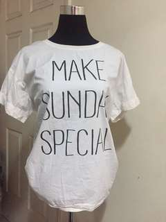 """Make Sunday Special"" Top"