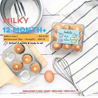 Hokido Baby Cakes - Milky