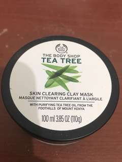 Body Shop Tea Tree Clay Masker