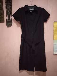 Accent black dress