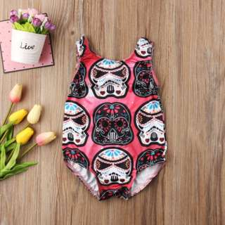 Casual Toddler Baby Boys Girls Star Wars Bodysuit Romper Jumpsuit Outfit Clothes