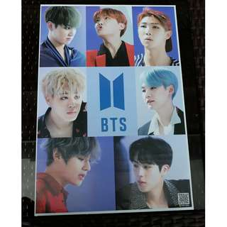 BTS Posters for sale. 20 pesos each and buy 6 for only 100.