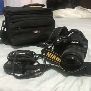 Nikon d40x dslr camera with lens 18-55mm last price posted!