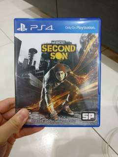 PS4 IN FAMOUS SECOND SON