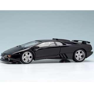 全新Make Up 1:43 Lamborghini Diablo Se30 JOTA Black EM323F