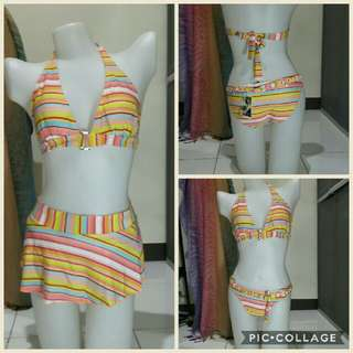 Large 3 piece swim wear