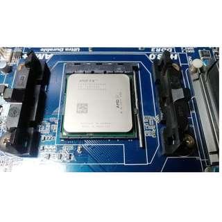 AMD FX8350八核 4.0G(Turbo 4.2G)125WL3快取8MB + 技嘉 GA-970A-D3 超耐久