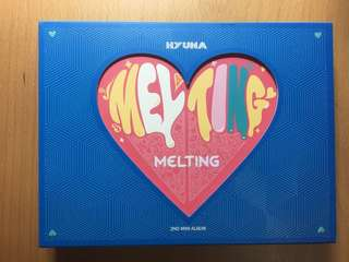 Hyuna melting CD