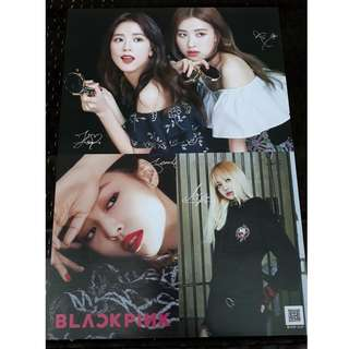 Blackpink Posters for sale. 20 pesos each and buy 6 for only 100.
