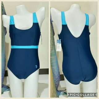 Large one piece swimwear