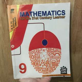 MATHEMATICS FOR THE 21ST CENTURY LEARNER K to 12 CURRICULUM COMPLIANT 9