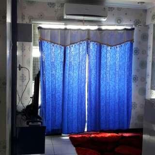 Unit harian dengan design yang menarik 2BR full furnish