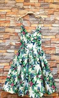 度假風花卉洋裝