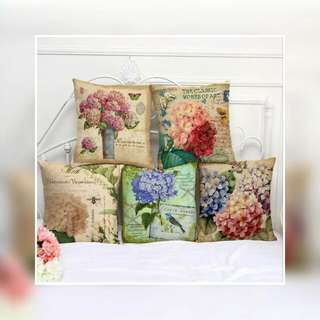 Set Of 5 Vintage Flowers Cover Only