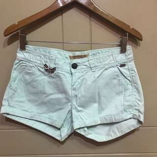 Stradivarius mint short jeans