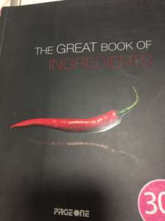The great book of ingredients